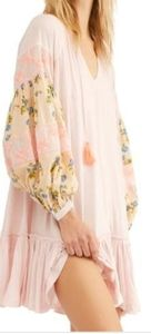 """Free People """"Mix It Up Tunic"""" in Floral Mist Combo"""